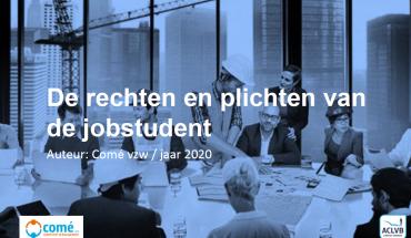 Rechten en Plichten jobstudent 2020